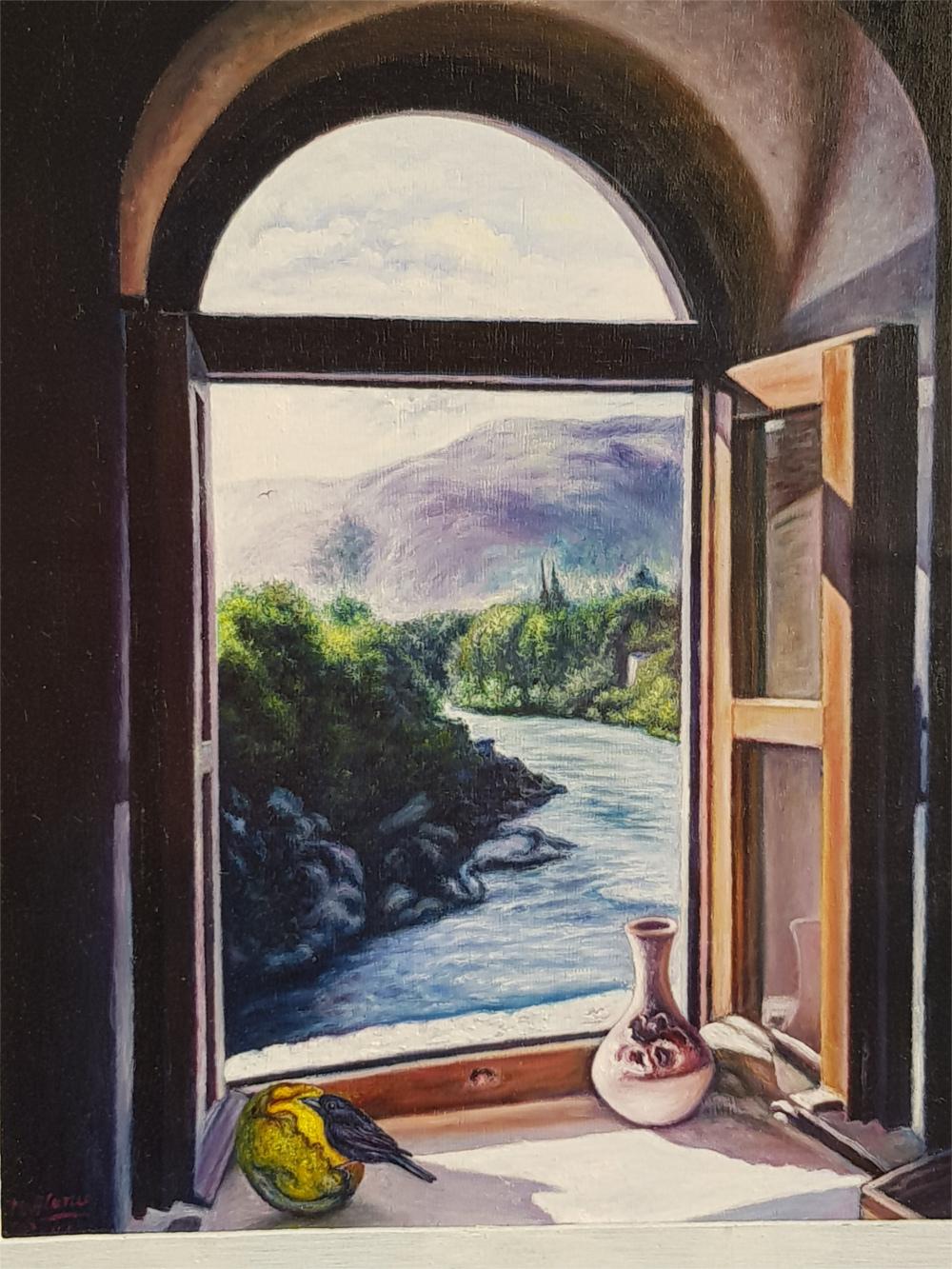 ventana al rio