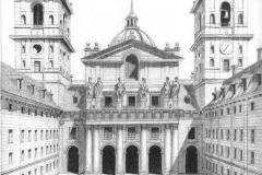 Patio de los Reyes- Monasterio de El Escorial