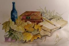 bodegón libros