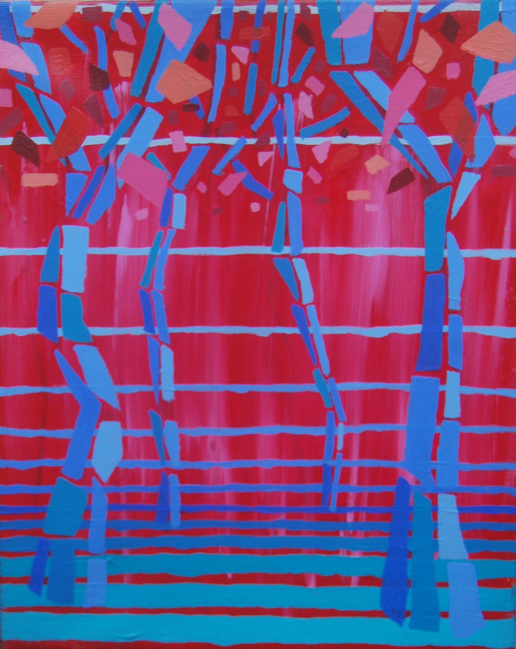 paisajes IV. acrílico sobre lienzo