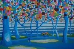 paisajes III. acrílico sobre lienzo