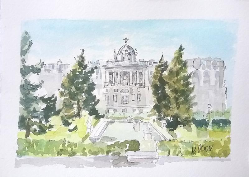 Sabatini Gardens Madrid, Spain 2018