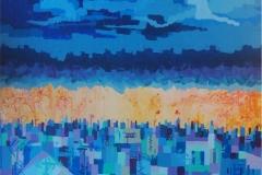 paisajes II. acrílico sobre lienzo